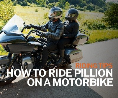 How To Ride Pillion On A Motorbike | Riding Tips image