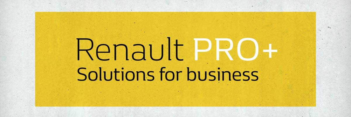 Renault proPlus Banner
