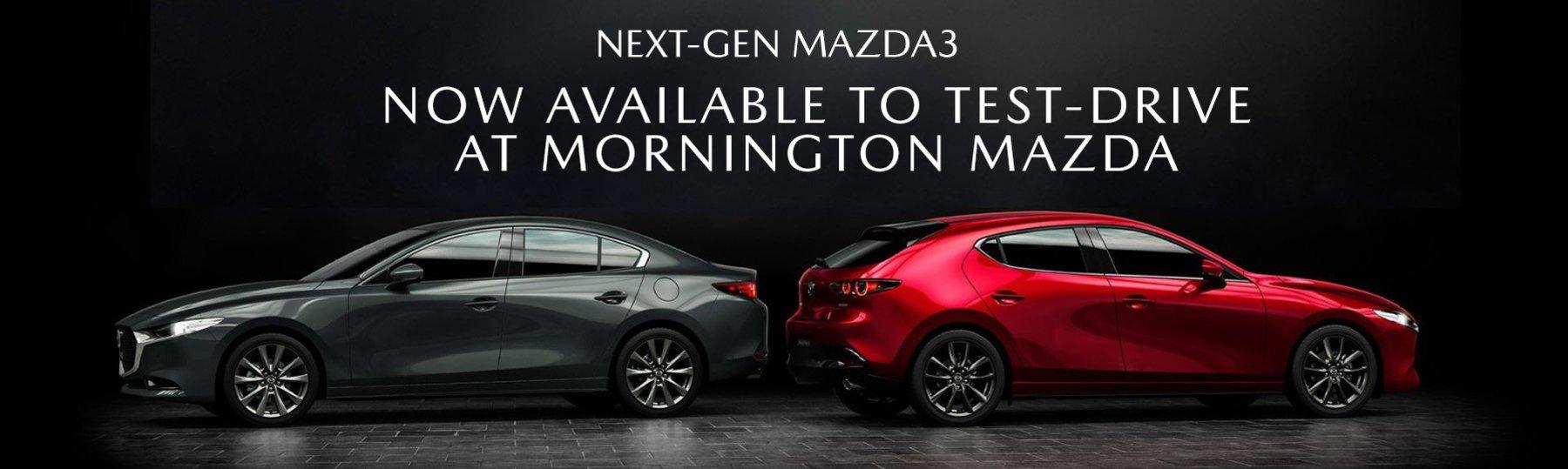 Next-Gen Mazda 3