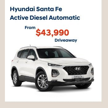 NEW SANTA FE 7S ACTIVE DIESEL AUTOMATIC SUV Small Image