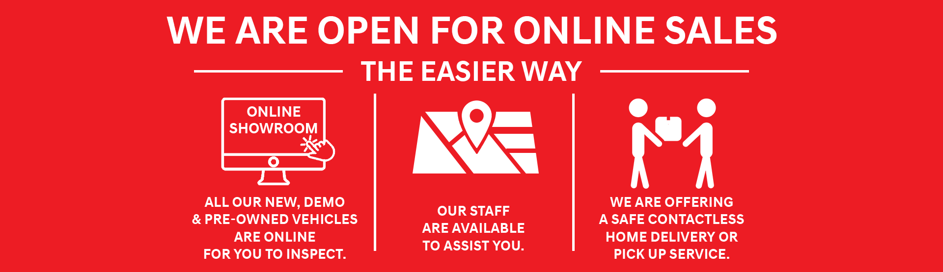 Dandenong Nissan - We are open online