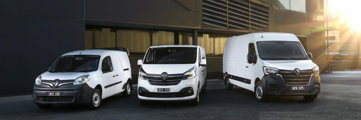 Renault Van Commercial Range