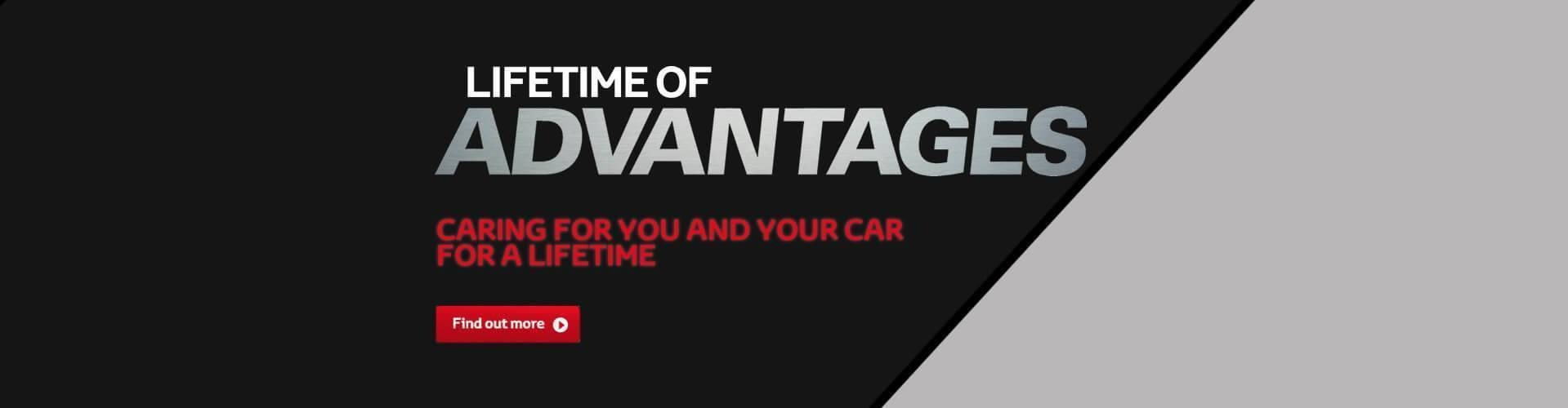 Toyota Lifetime Of Advantages
