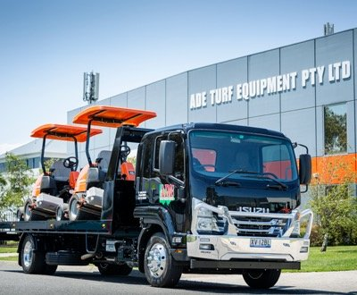 ADE Turf Equipment, Isuzu, Patterson Cheney image
