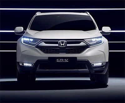 Honda CR-V Hybrid Prototype revealed image