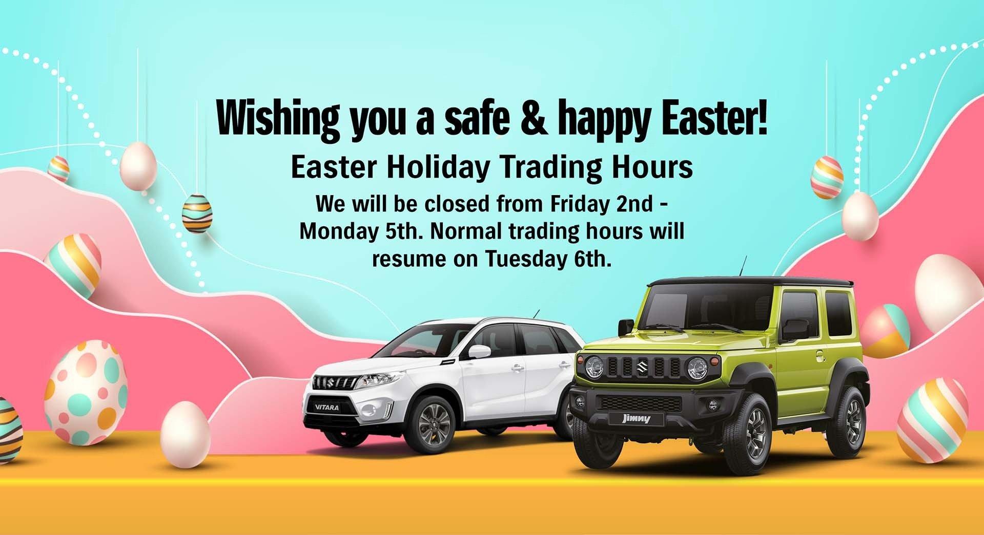 Eastern Suzuki -Easter Holidays