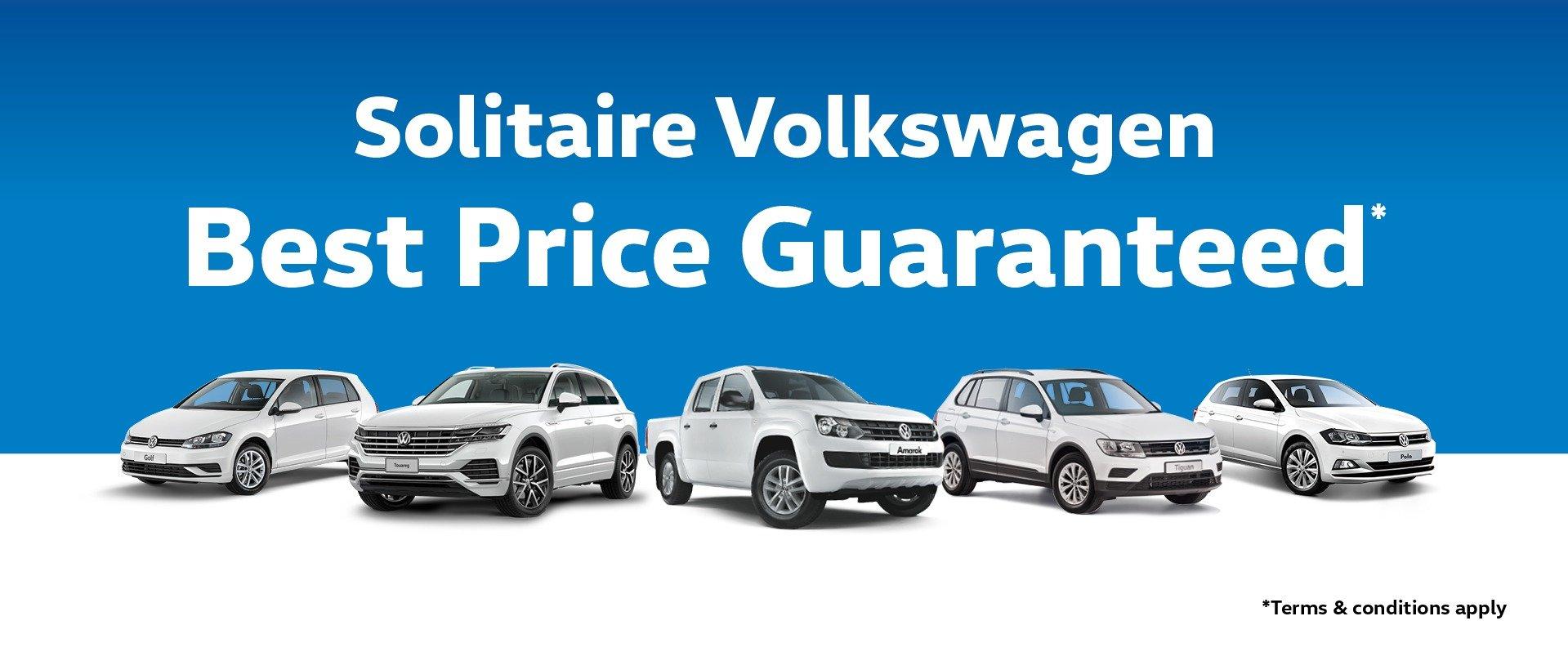 Solitaire Volkswagen Best Price Guaranteed*