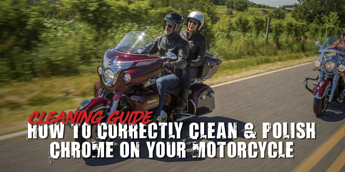 blog large image - How To Correctly Clean & Polish Chrome On Your Motorcycle | Cleaning Guide