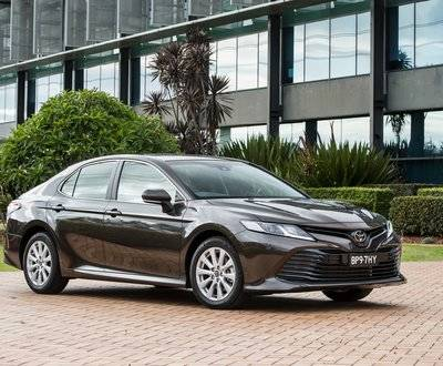 Hybrid Camry Ascent Toyota Award Winner image