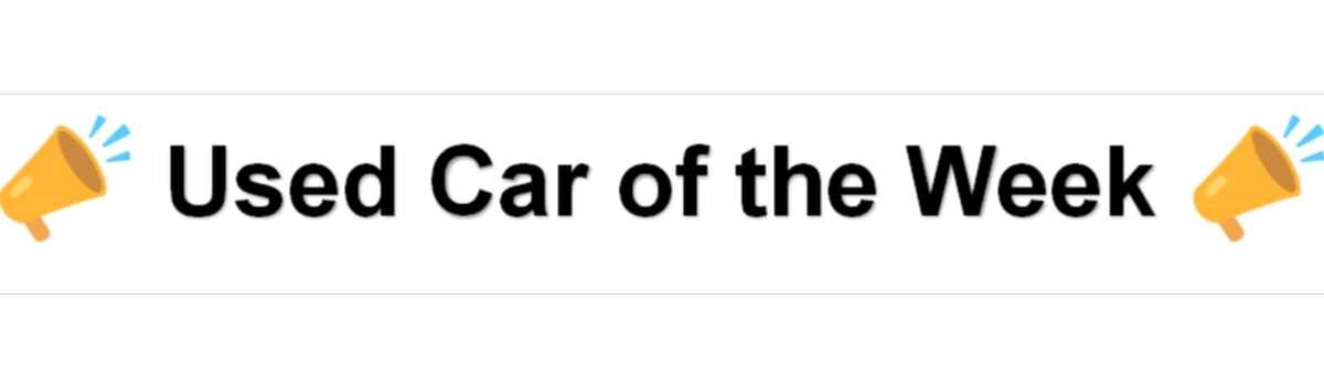 Used Car of the Week Large Image