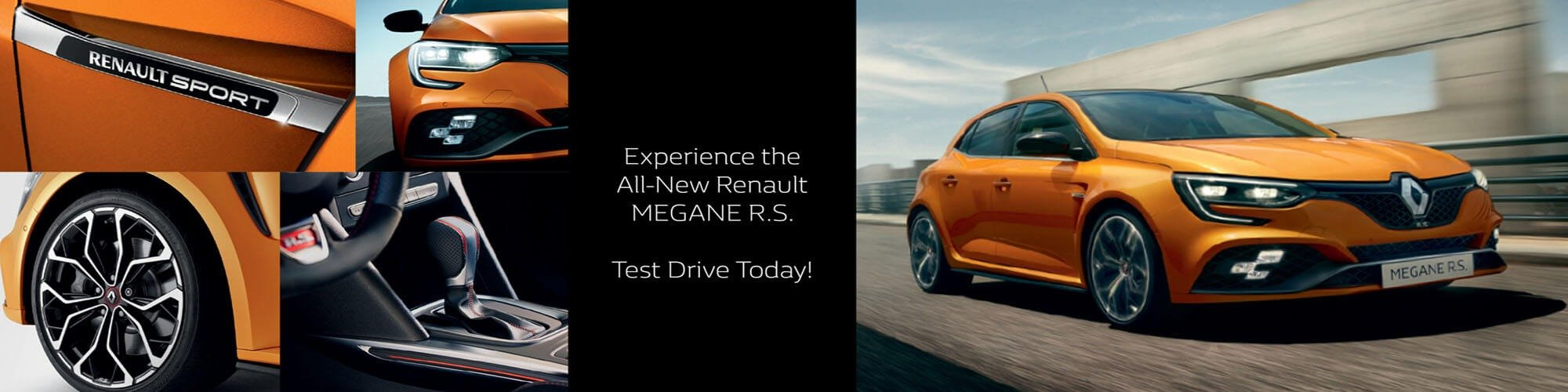 Test Drive The New Renault Megane R.S.