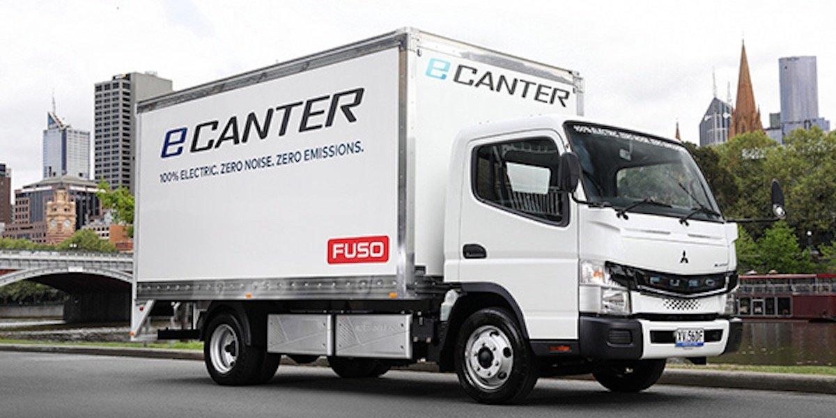 blog large image - Fuso eCanter Impresses During Melbourne Test Drives