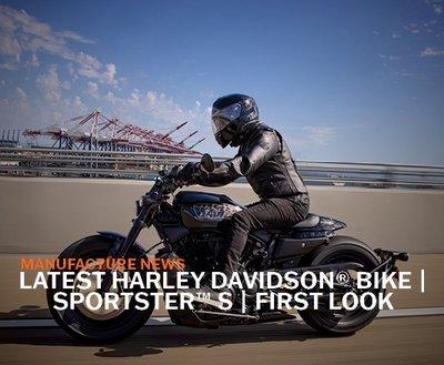 Latest Harley Davidson Bike | Sportster® S | First Look  image