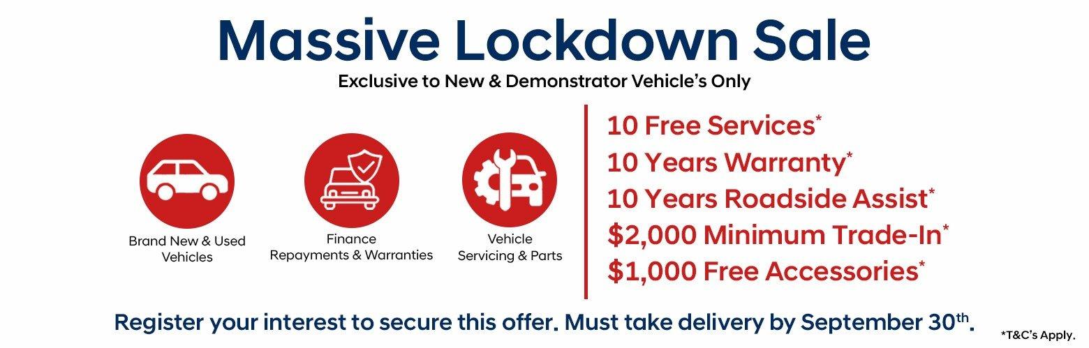 Dandenong Kia - Massive Lockdown Sale