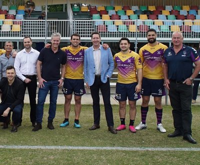 Melbourne Storm and General Manager of Fuso Port Melbourne, Steve Evans image