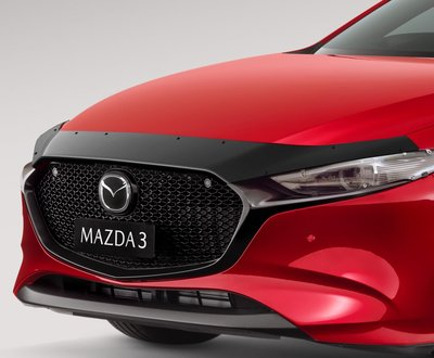 soul red mazda 3 front image