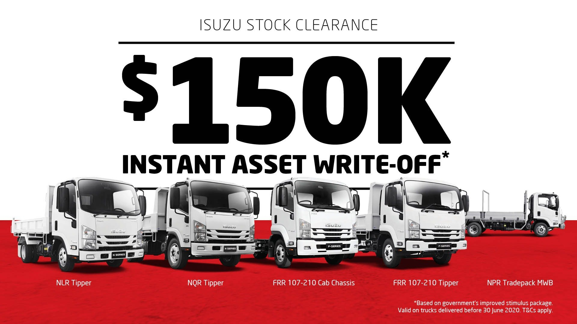 Patterson Cheney Isuzu stock clearance