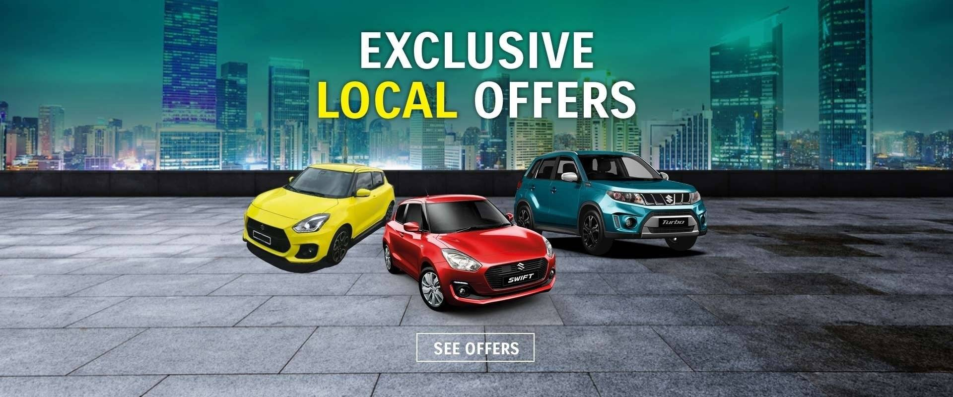 Eastern Suzuki Local Offers