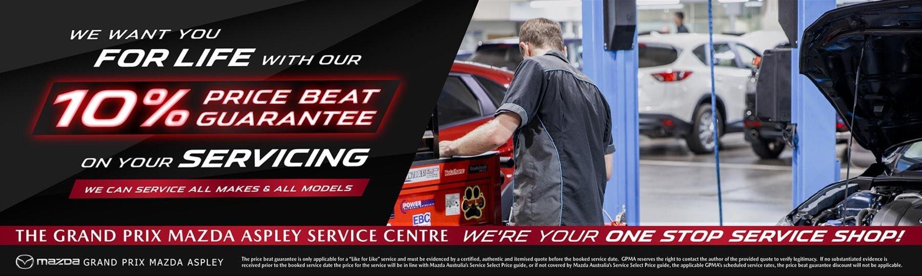 Grand Prix Mazda Service Offer