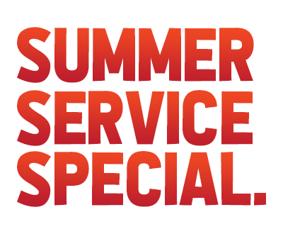 summer service special ultimate image