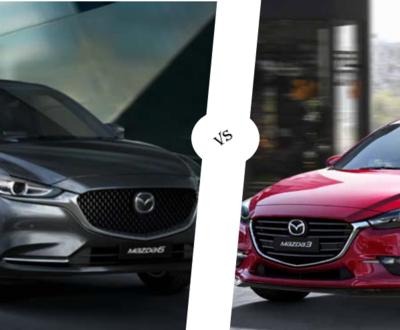 mazda 3 vs Mazda 6 image