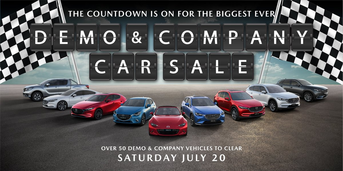 blog large image - Biggest Ever Demo & Company Car Sale This Saturday!