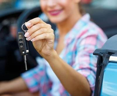 keys to new car image