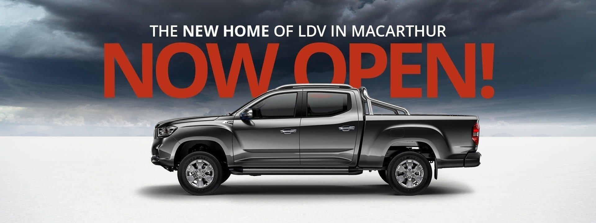 Macarthur LDV Now Open