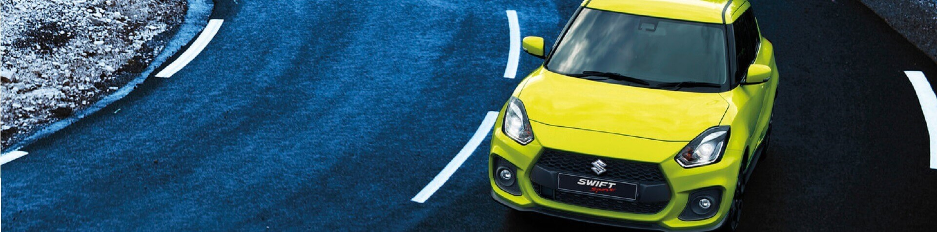 Suzuki Swift cornering