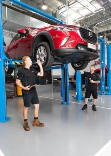 Click here to see Darwin Mazda's Service