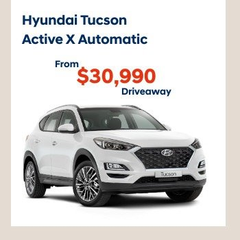 NEW TUCSON ACTIVE X AUTOMATIC SUV Small Image