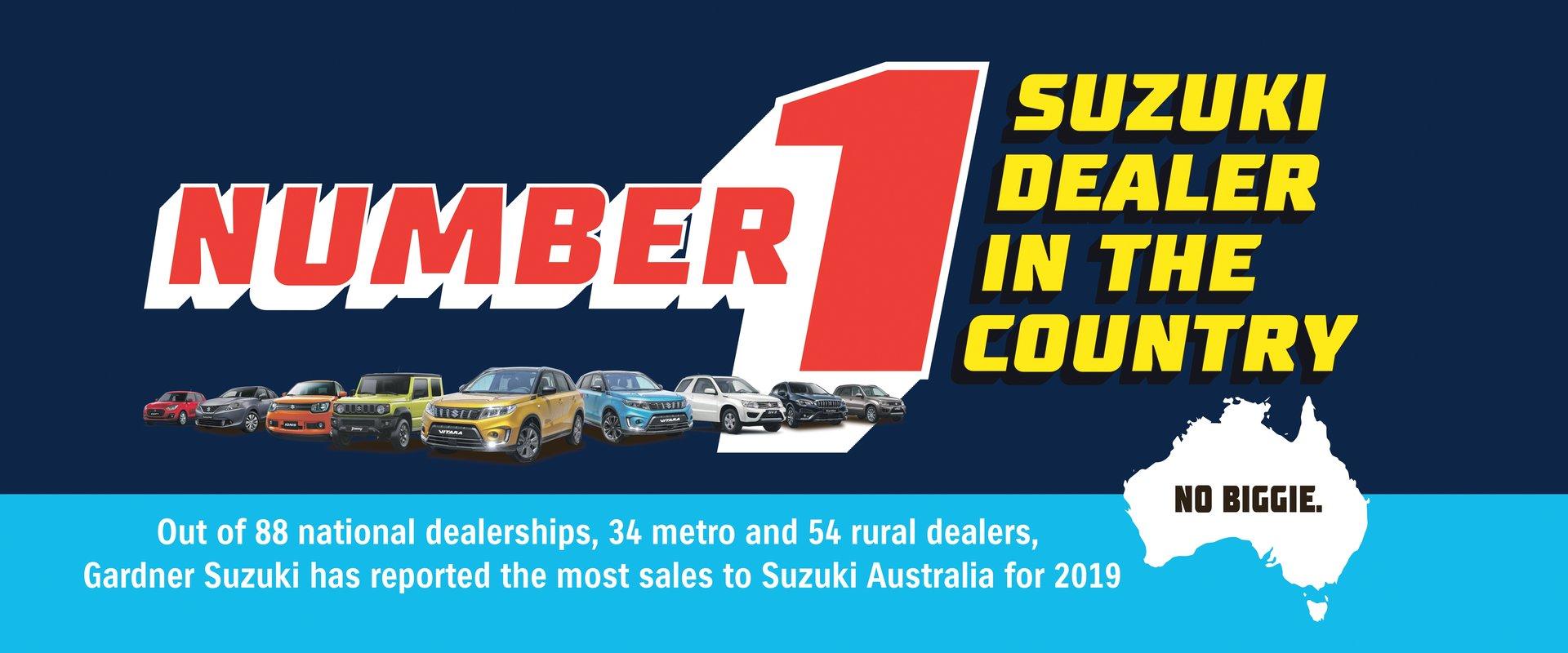 Number 1 Suzuki Dealer in the Country