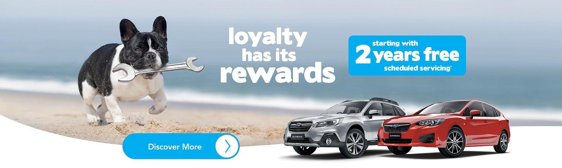 Subaru Free 2 Years Scheduled Servicing