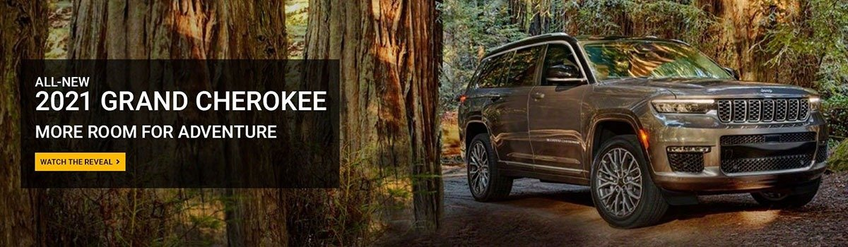 All New 2021 Grand Cherokee Large Image