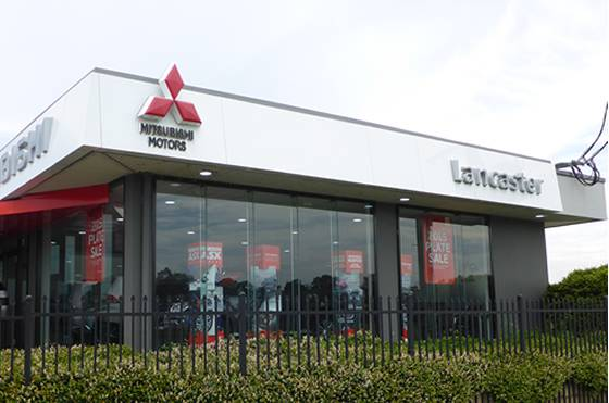 Lancaster Mitsubishi Dealership
