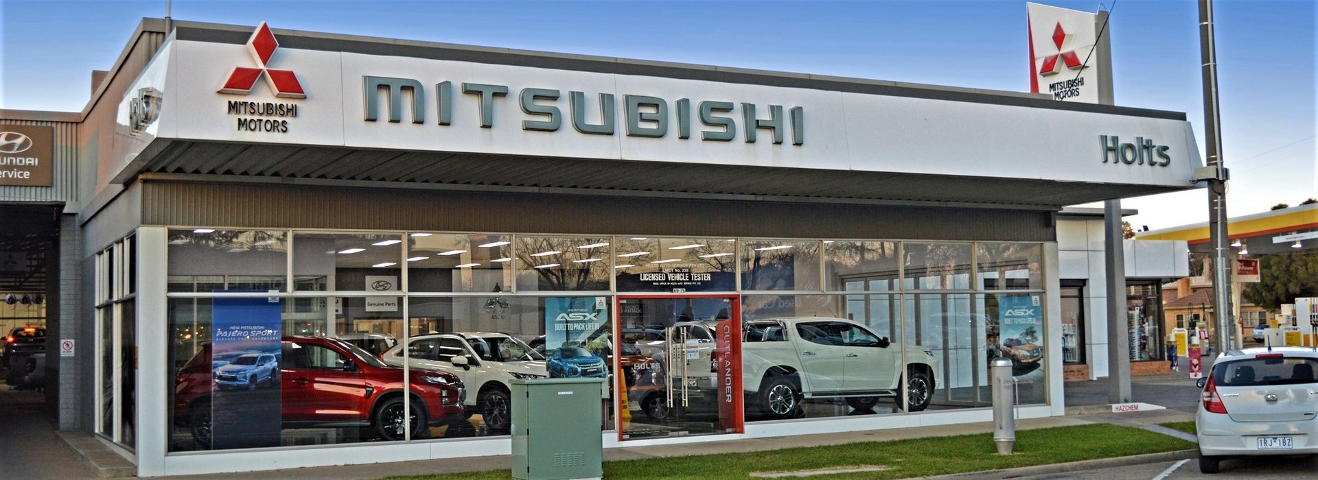 Mitsubishi Showroom 10/07/20