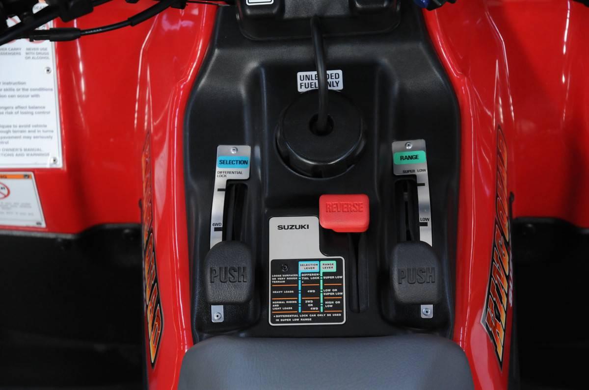 Suzuki King Quad 300 Manual