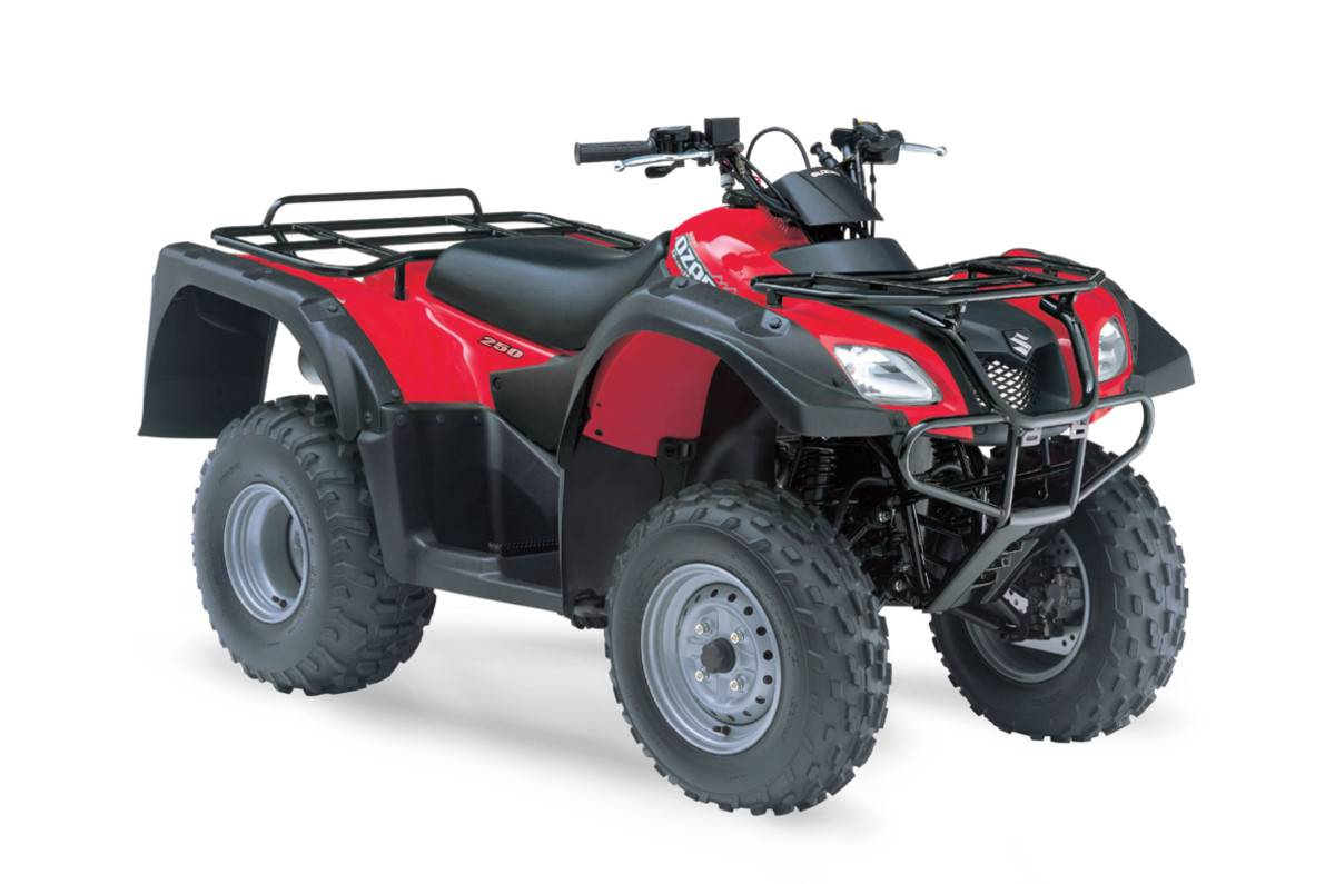 Suzuki Quadrunner Oil Capacity