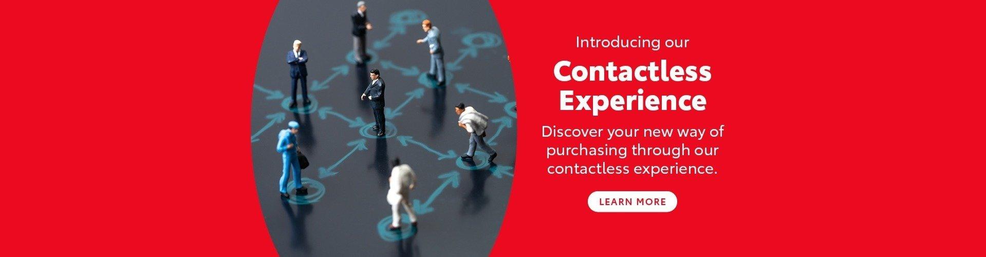 Contacless Experience - Croydon Toyota