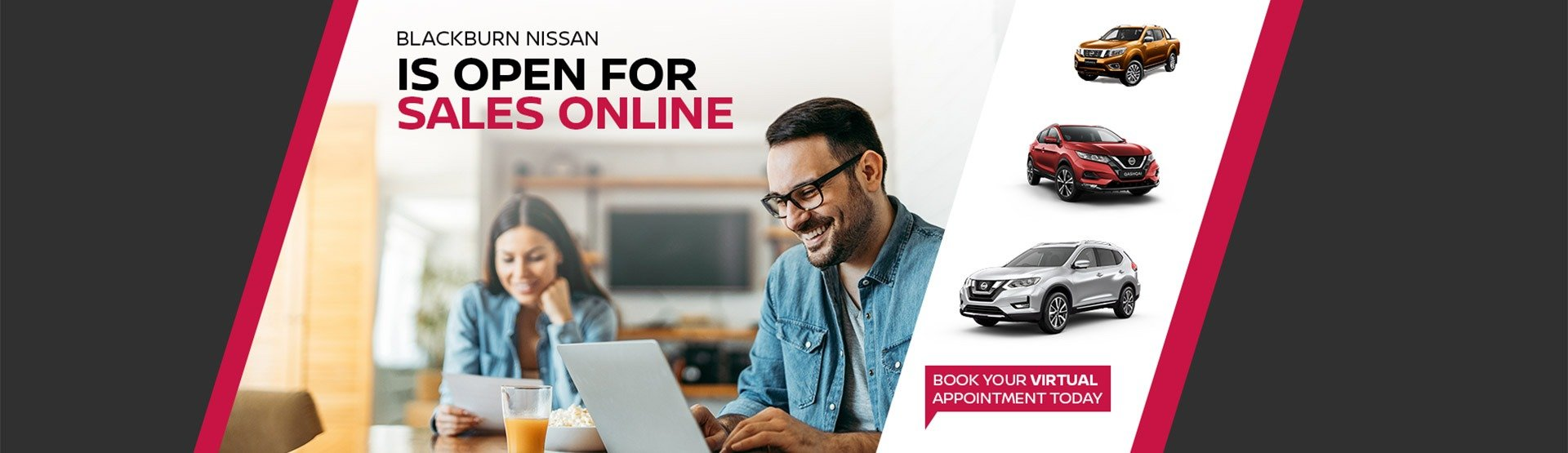 Blackburn Nissan Open for Online Sales