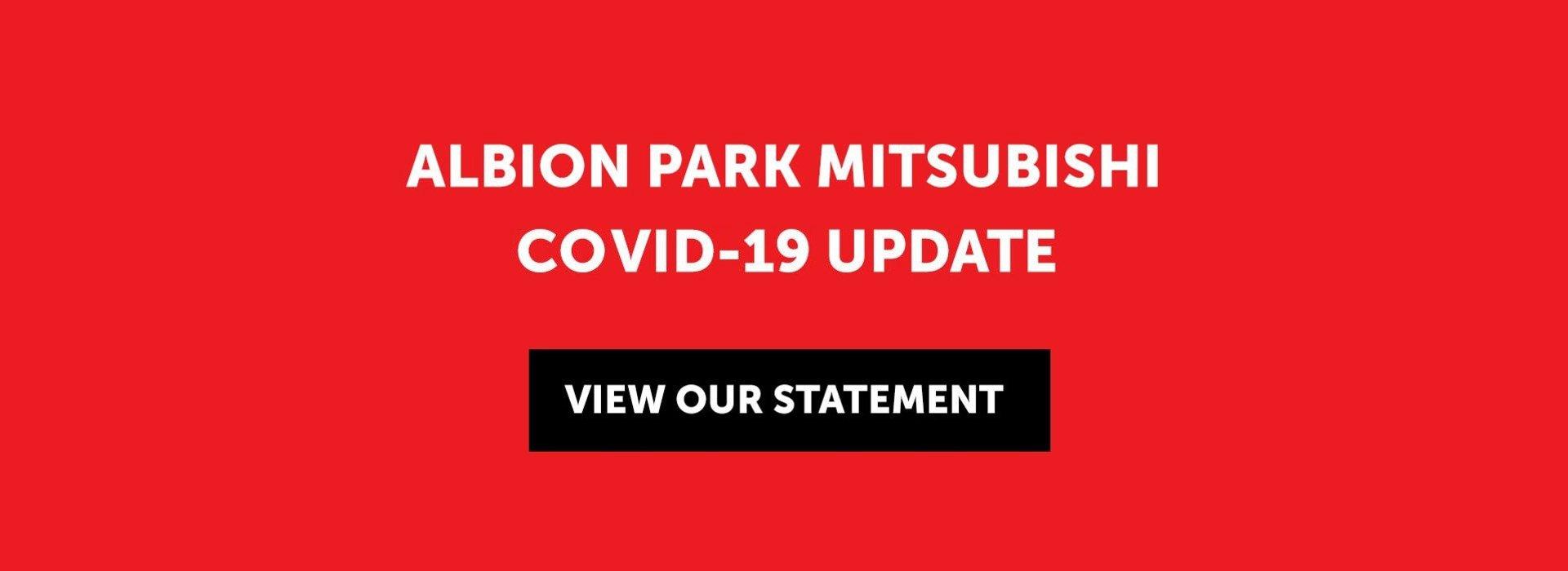 Albion Park Mitsubishi Convid-19 Statement