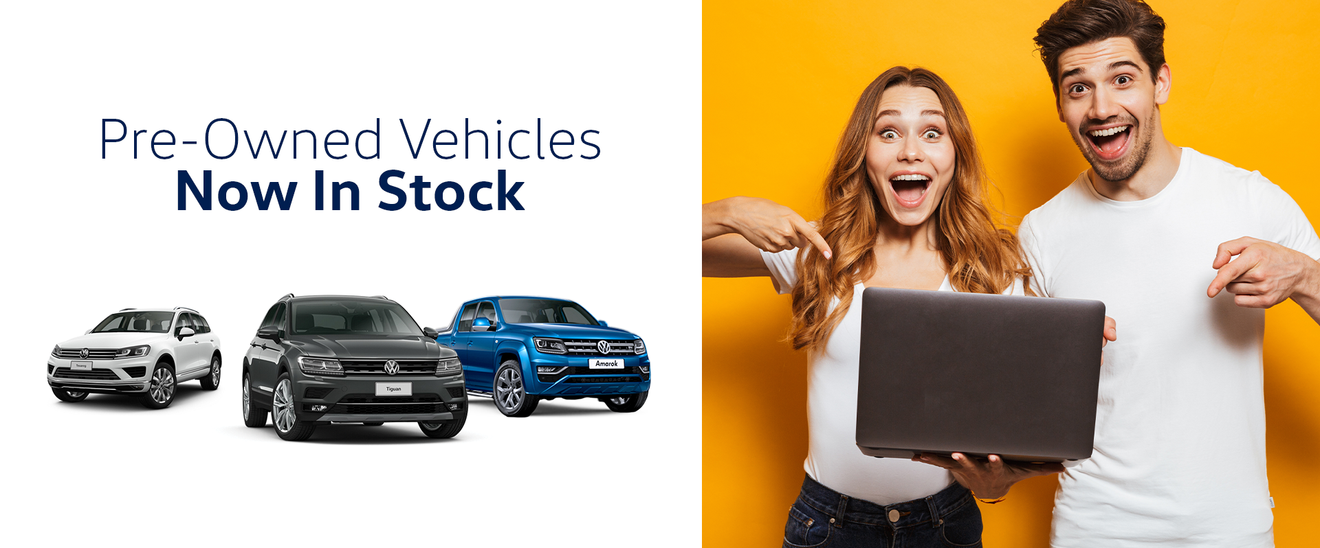 Pre Owned Vehicles in Stock