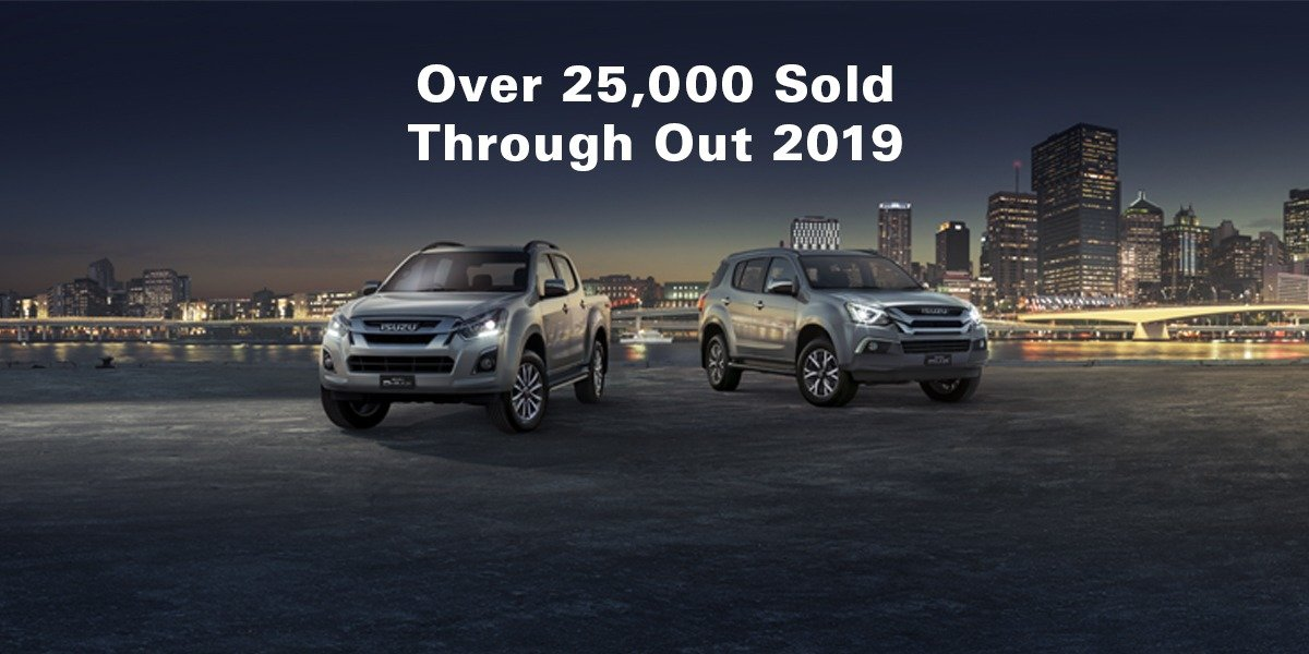 blog large image - 25,311 Sales of D-MAX and MU-X in 2019