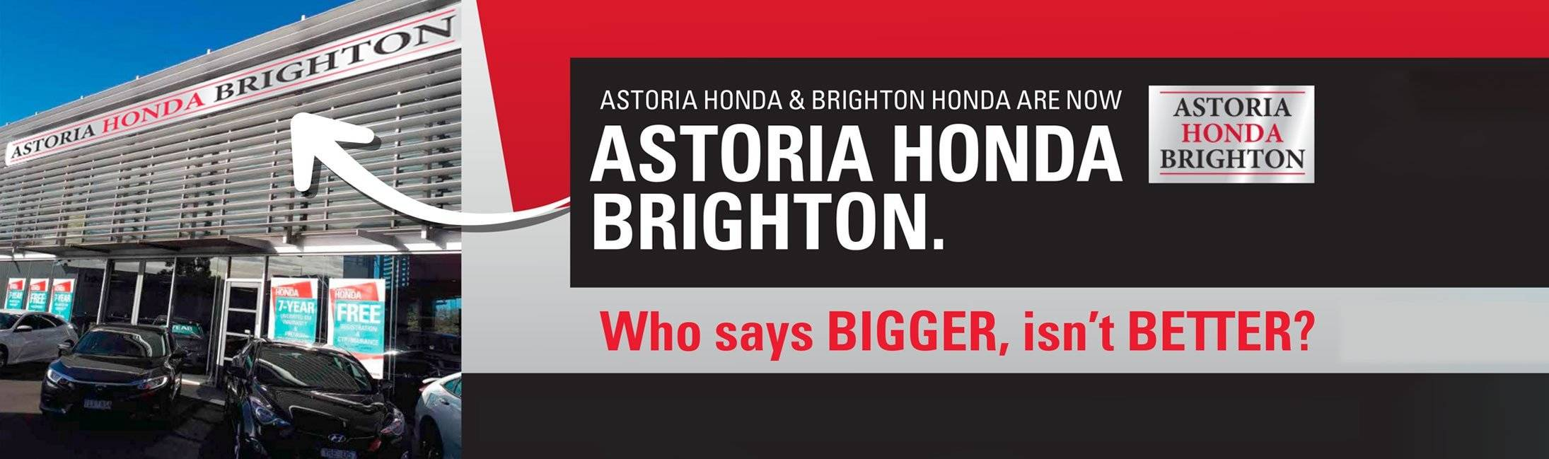 Astoria Honda Brighton, Bentleigh Melbourne