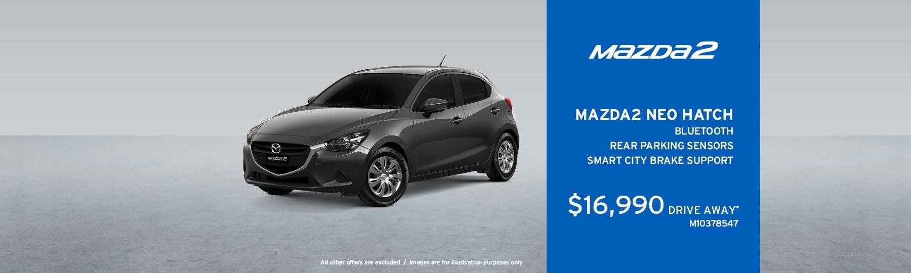 Newcastle Mazda Special Offers