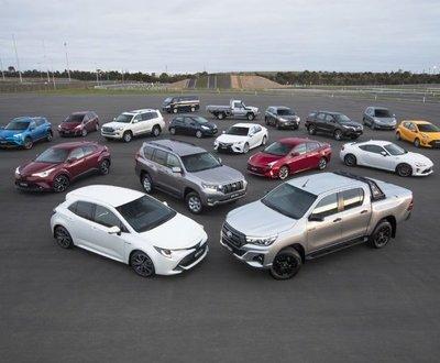 Toyota range image