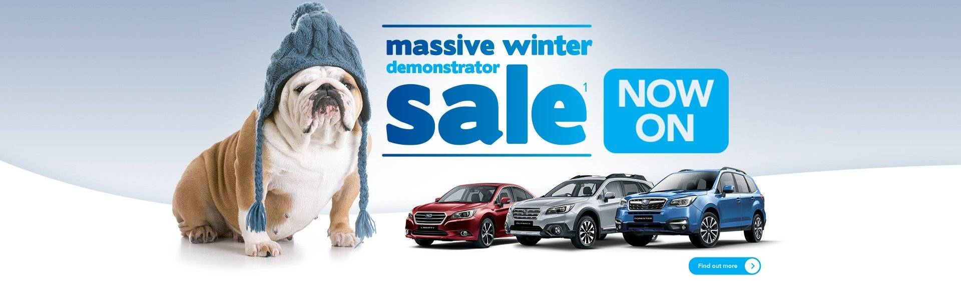 Winter Demonstrator Sale