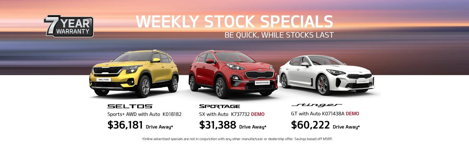 kia weekly stock specials