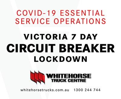 COVID-19 Essential Operations - Victoria 7 Day Circuit Breaker Lockdown image