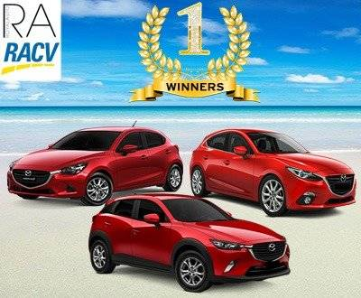 RACV 2018 Winners Mazda 2, Mazda 3 and CX-3 image
